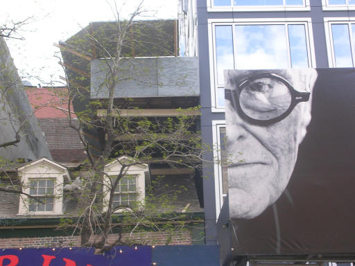 The ghost of Philip Johnson looms..